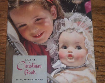 1942 Sears Roebuck and Co. Merry Christmas book catalog dolls toys vintage
