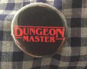 Dungeon Master Pinback Button