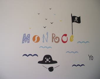 Wall decor for kids, custom theme