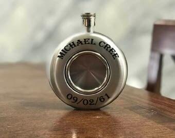 Custom Stainless Steel Liquor Flask