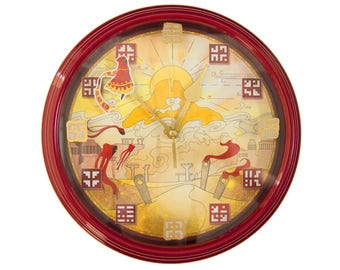 Journey - 3D Wall Clock -  Gamer Decor -  Video Game Wall Art - Video Game Decor - Video Game Wall Clock - Gamer Gift