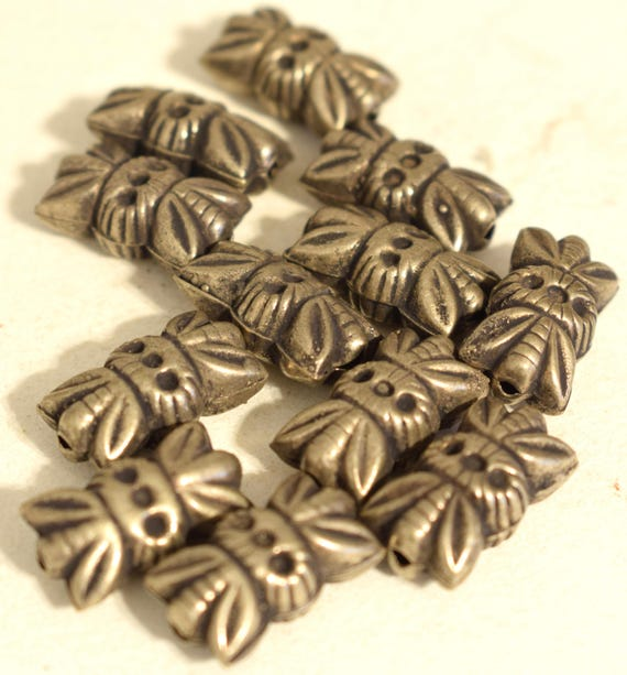 Beads Middle Eastern Coin Silver Kuchi Butterfly Beads Necklaces Earrings Silver Components