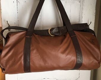Duffel Bag, genuine leather