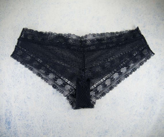low rise THIA panties, unique and handmade deadstock lace