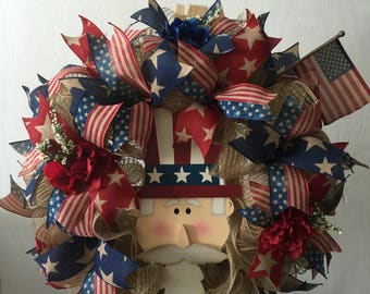 Rustic Uncle Sam