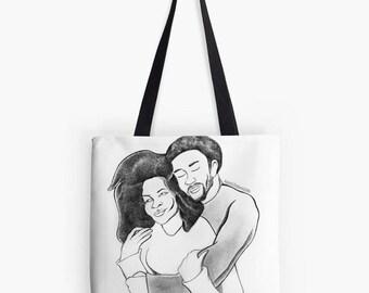 Black Lovers (Tote Bag)