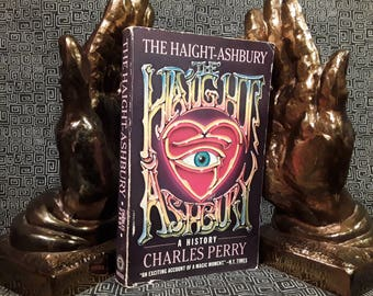 Haight Ashbury Book By Charles Perry, Paperback, 1985, LSD, Hippie, Grateful Dead, Psychedelic History, Acid Rock KMPX FM Radio
