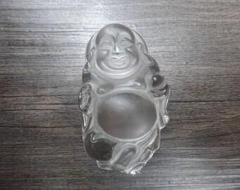Natural white crystal pendant Maitreya Buddha pendant pendant