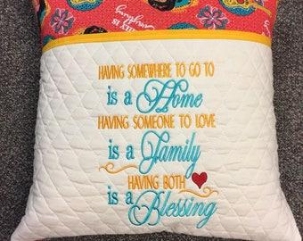 Reading Pillow Blessing