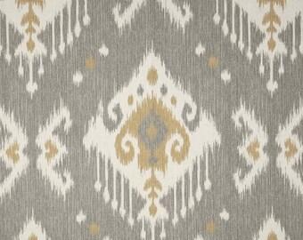 sale valance 50 x 16 designer fabric dakota grey ikat curtain valance topper window valance window