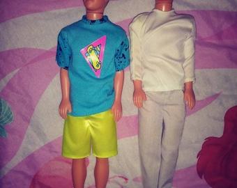 Only 1 left ! Mattel 1989 Kevin Dolls Skippers Boyfriend In Shorts