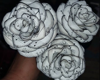 Paper Roses - Vintage Books or Sheet Music