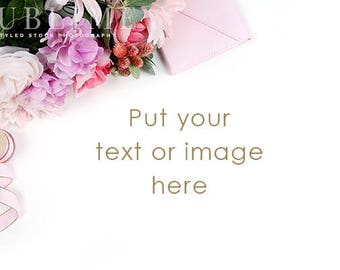Styled Stock Photography / Styled Desktop / Social Media / Digital Image / Flowers, Floral / Photo Background / Stock Photo / StockStyle-910