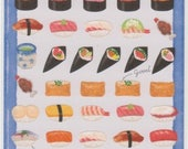 Sushi Stickers - Japanese Stickers - Japanese Food Stickers - Mind Wave Stickers - Reference A5805-08H6010-11