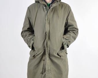 Authentic Vintage German Army Parka