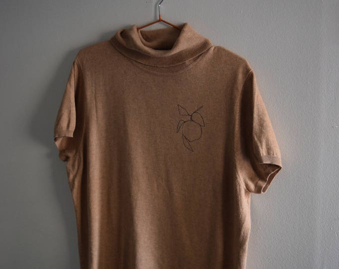Clementine Cowl Neck Knit Tee
