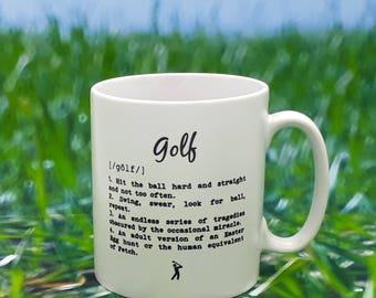 Golfers Mug - Golfer