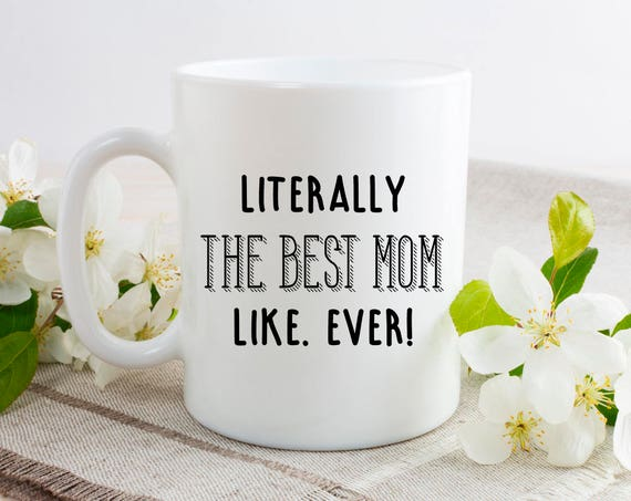 Best Mom Ever Mug - From Doughter Gift Personalised Mom Mug - Mum Est Mug - Best Friend Mug - Mothers Day Gift Christmas Gift 7CA