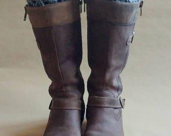 Dark Gray Boot Cuff