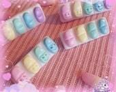 Daily Dose rainbow pills hair clip brooch menhera
