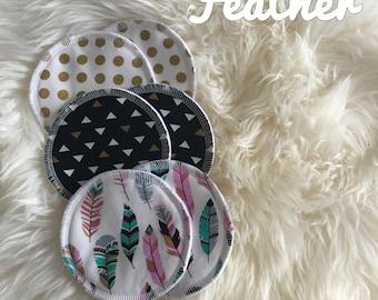 Reusable Nursing Pads (Set of 3) | Washable Breast Pads