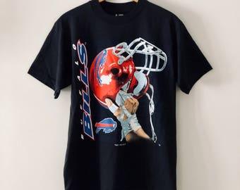 Vintage 90's Buffalo Bills T-Shirt SZ S