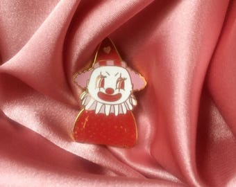 "Poopywise the Clown 1.5"" Enamel Lapel Pin"