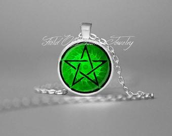 WICCAN PENTAGRAM Goddess Pendant Wiccan Jewelry Wiccan Pentagram Pendant Pagan Necklace NeoPagan Wiccan Jewelry Pentagram Pendant Pentacle