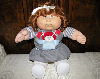 Vintage Cabbage Patch Kid Doll # 14 HM~ Cornsilk Shirley Temple Curls!