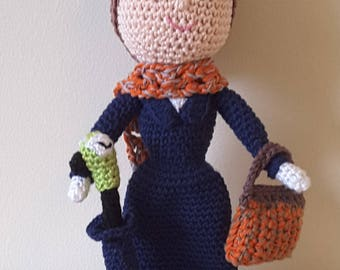 Disney Inspired 'Mary Poppins' - Crochet Pattern Only