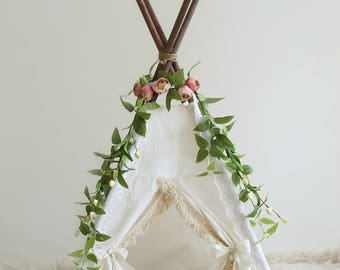 Photography prop teepee gender neutral