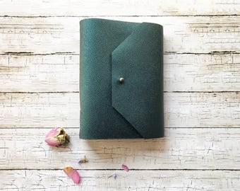 Leather Journal, Writing Journal, Gifts for Writers, Leather Notebook, Journals for Women, Handmade Journal, Leather Sketchbook, Mermaid