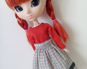 Mori skirt for pullip blythe azone momoko obitsy and similar dolls