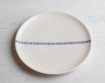 Handmade Beach Hut Plate