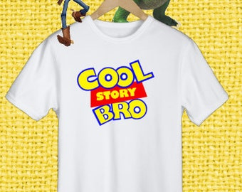 Disney Toy Story Shirt, Cool Story Bro Shirt, Boy's Disney Tee