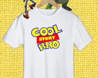 Disney Toy Story Shirt, Cool Story Bro Shirt, Boy's Disney Tee