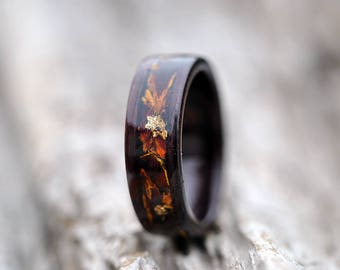 Ring Wood, Wood Rings For Men, 5 Year Anniversary, Wooden Engagement Rings,