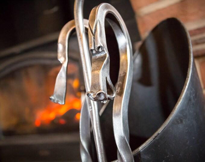 Fire Poker & Toasting Fork Gift Set
