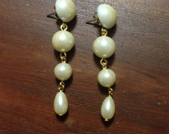 Long Pearl Dangles