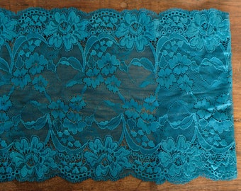 Stretch Lace - Turquoise