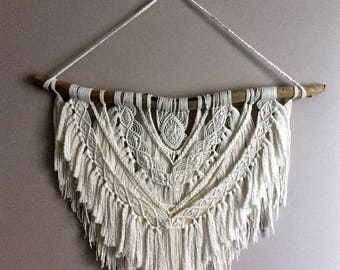 Bohemian Macrame Wall Hanging | Boho Home Decor