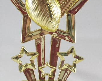 Football Trophy - Free Engraving, Football Award,  Unisex Football Trophy, Participation Award, Team Trophies