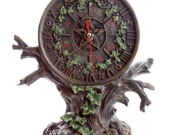 Fantasy Tree of Life Astrology Clock