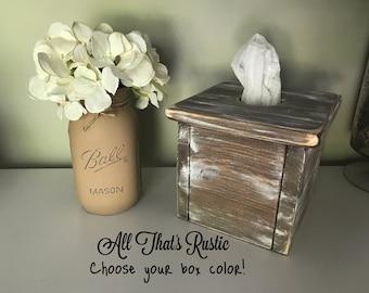 Rustic Tissue Box, Rustic Tissue Box Cover, Tissue Box Cover, Wood Tissue Box, Rustic Home Decor, Rustic Decor, Tissue Box, Rustic Box, Gift