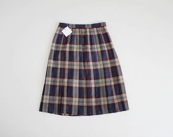 scottish plaid wool skirt | scottish plaid kilt skirt | tartan plaid skirt