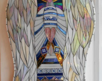 Angel Mosaic Wall Art