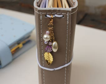 Lilac & Gold -traveler's notebook charm