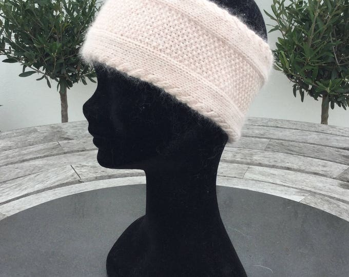 Cashmere headband / ear warmer by Willow Luxury ( one size)