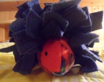 Red Plaid Hedgehog