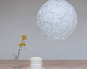 Sphere Pendant Light | Airy White Lamp